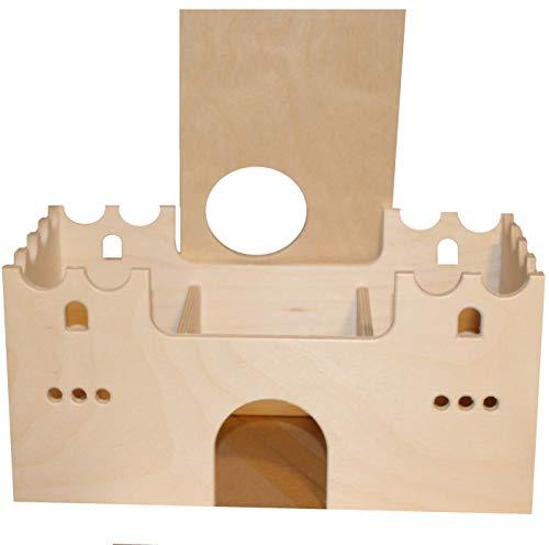 Hamsterwelten Wohnlabyrinth Lancelot - Mehrkammernhaus mit DREI Kammern für Hamster & Mäuse