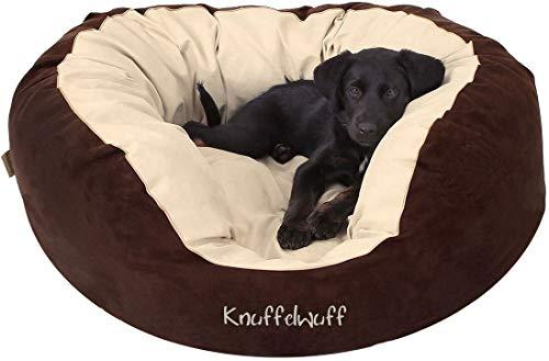 Knuffelwuff Hundebett XXL Dooly Hundekorb Hundesofa Hundekissen Hundekörbchen waschbar Grosse Hunde...