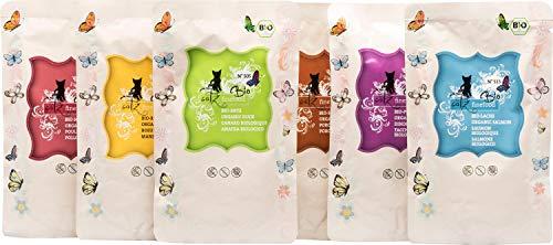 catz finefood Bio Katzenfutter MIX Paket - 6 x 85 g - Nassfutter für Katzen - N° 513, 511, 509,...