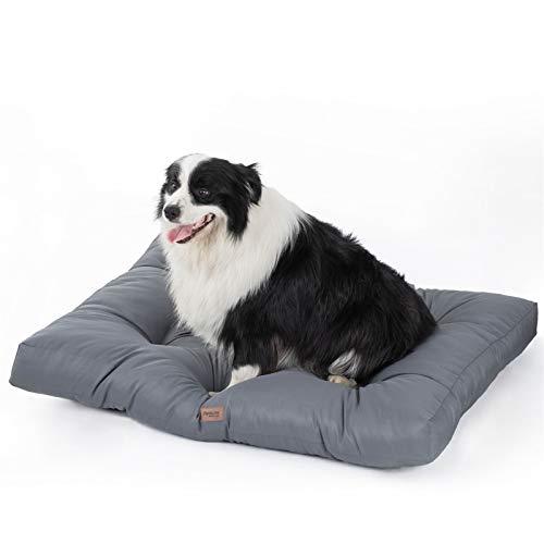 Bedsure Hundekissen für Große Hunde Wasserdicht XXL 110 x 90 cm - Gepolstert Hundematte Hundebett...
