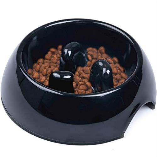 SuperDesign Hundenapf Anti Schling, rutschfest Fressnapf zur Langsameren Nahrungsaufnahme,...