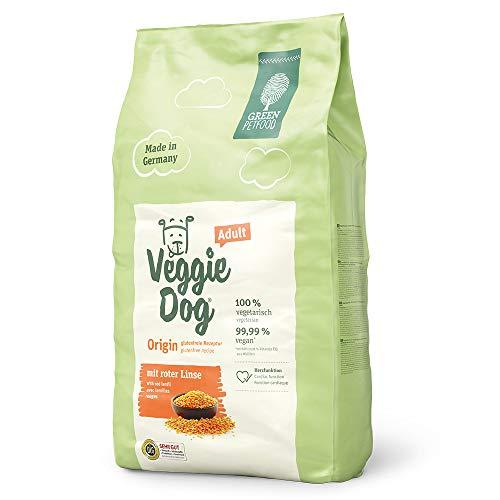 Green Petfood VeggieDog Origin Adult - Für ausgewachsenen Hunde - 10kg Hundefutter Trocken