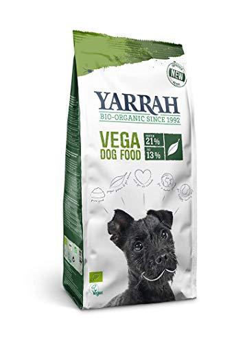 Yarrah Vega Vegetarisches Bio-Trockenfutter für Hunde – für ausgewachsene Hunde Aller Rassen |...