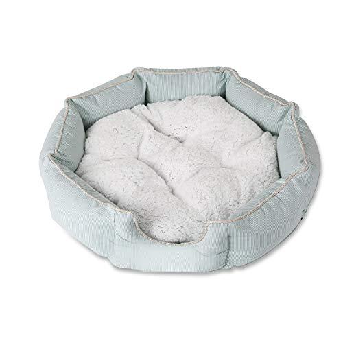PETCUTE hundekorb Hundebett Katzenbett Luxus gesteppt weiches Fell Fleece Hund Bett waschbar...