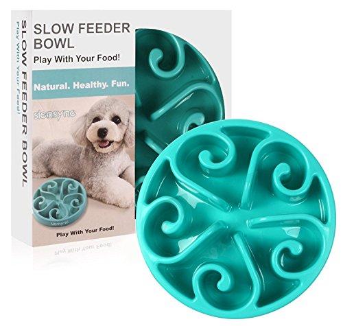 Siensync langsame Fütterung Hundenapf, Interessanter interaktiver Hundenapf, langlebige ungiftige...