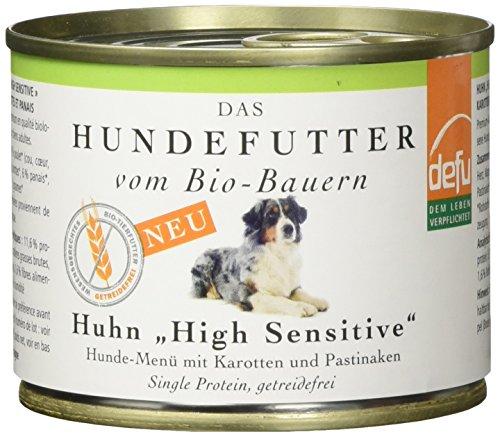 defu Vorteilspack Hund High Sensitive Menü Huhn getreidefrei 12 x 200 g