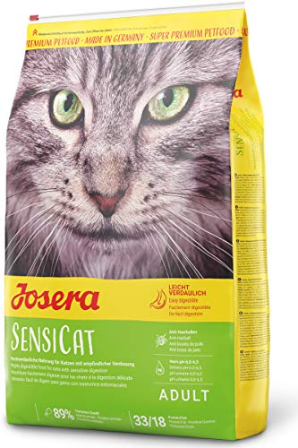JOSERA SensiCat (1 x 10 kg)   Katzenfutter mit extra verträglicher Rezeptur   Super Premium...