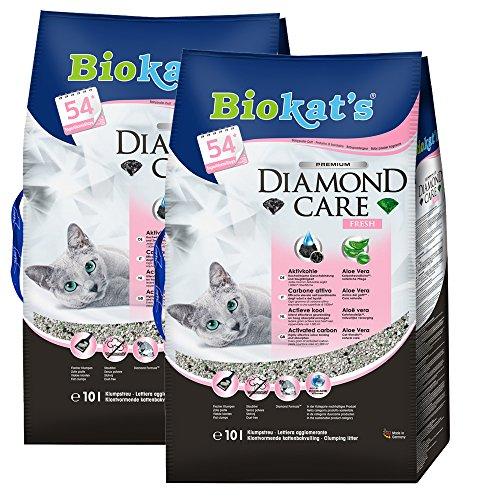 Biokat's 613079 Diamond Care Fresh, 10 L 2er Pack
