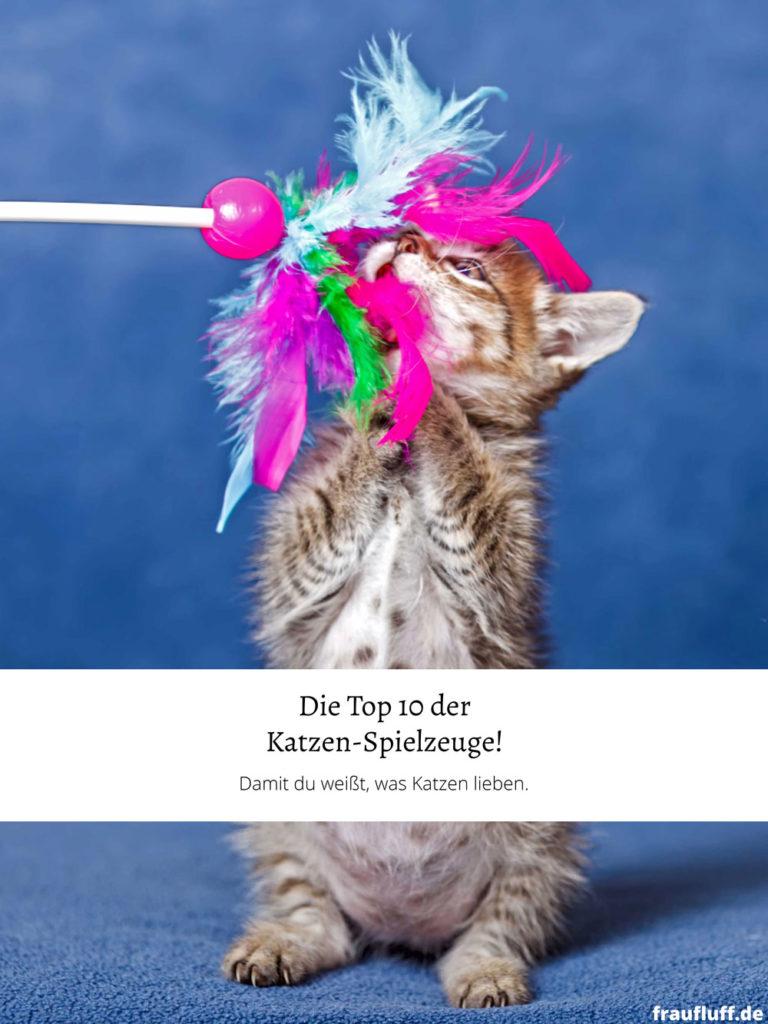 Hier findest du das Top 10 Katzenspielzeug in Deutschland. Diese Liste wird auf täglicher Basis für dich aktualisiert. Katzen lieben diese Spielzeuge!